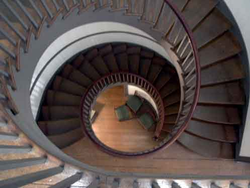 Spiral Staircase, Shaker Village, Pleasant Hill, Kentucky, 2001